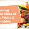 A Growing Online Store of Fresh Fruits & Vegetables